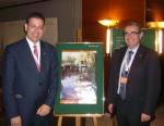 President i secretari Rotary Club Terrassa