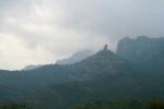 vista de roca mur