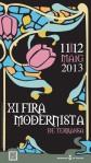 cartell fira modernista 2013