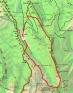 mapa ruta carena dels Emprius