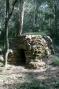 cabana del llindar de pedra d'angle