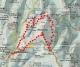 mapa ruta Montcau