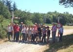 Grup al pas de la Manrella