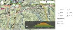 mapa ruta Mura cargol 2