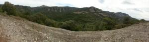 panoramica des de coll prunera