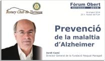 anunci invitacio forum Jordi Cami